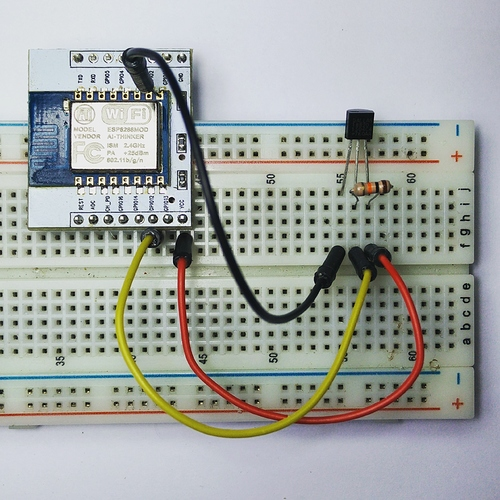ESP8266 digital read (ds18b20) - How-To - The Internet of