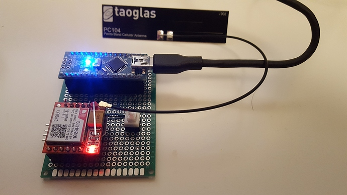 Connect to thinger io via GPRS module (done) - Client Libraries